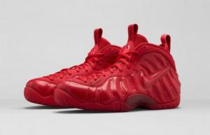 Conoce las Nuevas Nike Air Foamposite Pro 'Gym Red'