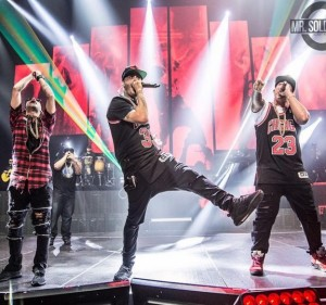 Imágenes exclusivas asi se revento el choliseo de PR ayer con Nicky Jam – Daddy – Arcangel