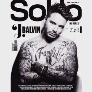 J. Balvin posa para la revista SoHo