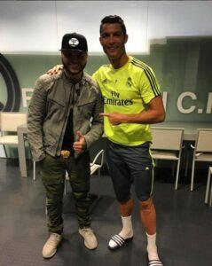 Farruko conoce a Cristiano Ronaldo