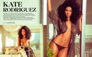 [+18] ¡Fotos de infarto! panameña en Playboy Croacia