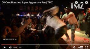 Denuncian a 50 Cent por dar un puñetazo a una mujer durante un show