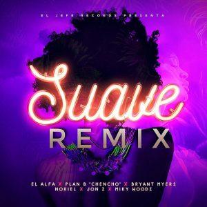 El Alfa Ft Jon Z, Noriel, Bryan Myers & Mas – Suave (Official Remix)