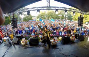 Fiti-x arrasa en festivales latinos en EE.UU.