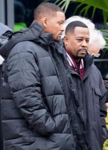 """Publicaron primeras imágenes de Will Smith grabando """"Bad Boys 3"""